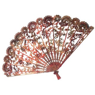 Vintage Chinese Style Fan For Sale