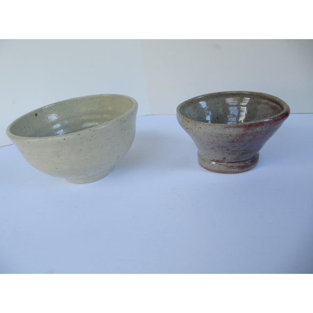 Handmade Pottery Serving Bowls-2 Pieces - Image 4 of 4
