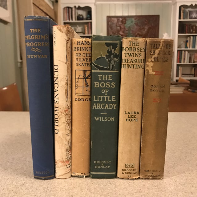 Decorative Assorted Books - Set of 6 For Sale - Image 4 of 11