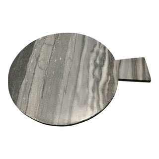 Black and Grey Marble Cheese Board For Sale