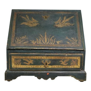 Antique Italian Travel Desk For Sale