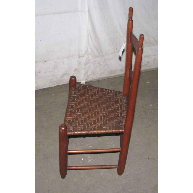 Antique American Cherry Chair For Sale - Image 6 of 6
