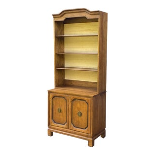 Davis Cabinet Company Asian Modern Library Cabinet For Sale