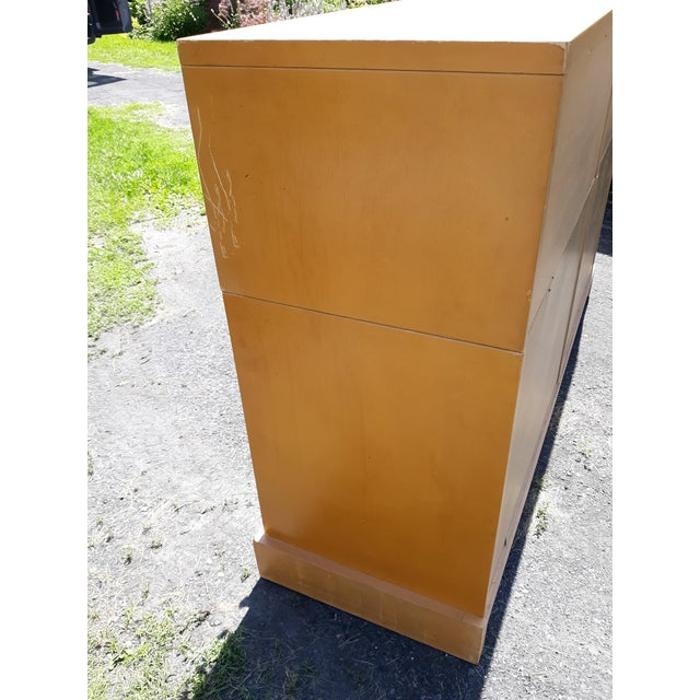 1940's C. G. Kimerly for Widdicomb 12 Drawer Chest For Sale - Image 10 of 13
