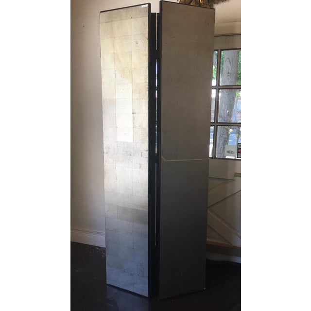French Style 4 Panel Room Divider/Screen For Sale - Image 9 of 11