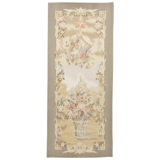 "Chinese Aubusson Tapestry - 2'6""x 5' For Sale"