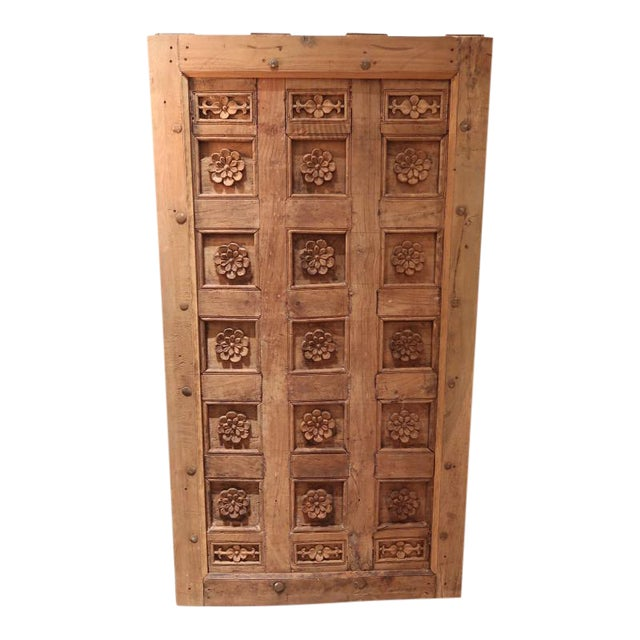 A Carved Wood Ceiling or Painting, XVIIIth century For Sale