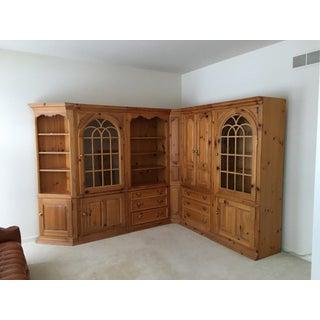 Thomasville 1800'sReplica Pine Wall Unit Preview