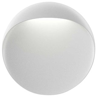 Small 'Flindt' Indoor/Outdoor Wall Light in White for Louis Poulsen For Sale