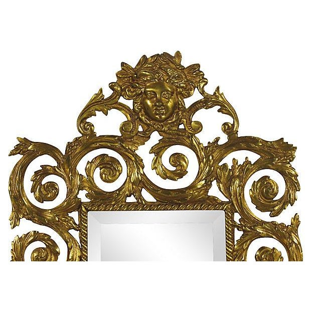 Baroque Baroque-Style Girandole Mirrors - A Pair For Sale - Image 3 of 4