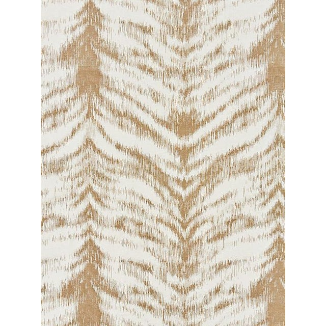 Transitional Scalamandre Safari Weave, Fawn Fabric For Sale - Image 3 of 3