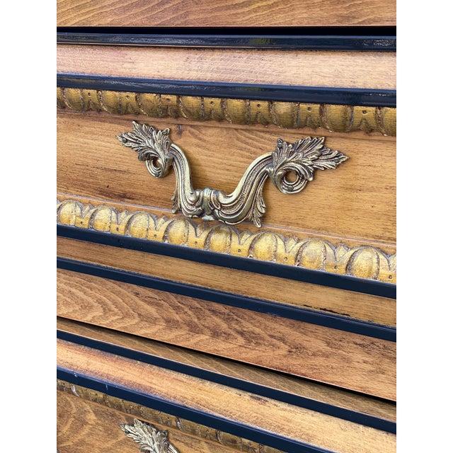 Hollywood Regency Vintage Hollywood Regency Dresser Commode For Sale - Image 3 of 13