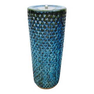 Bitossi Raymor Tall Ashtray Pottery Pot Vase For Sale