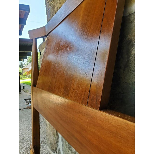 Kent Coffey Mid-Century Modern Full Headboard For Sale In Baltimore - Image 6 of 7