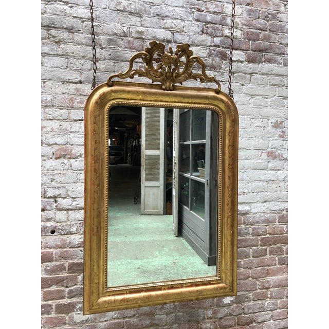 Traditional 19th Century Mirror For Sale - Image 3 of 8