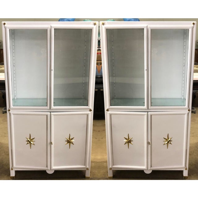 Metal Superb Pair of Vintage Metal Dental Cabinets - Restored For Sale - Image 7 of 7