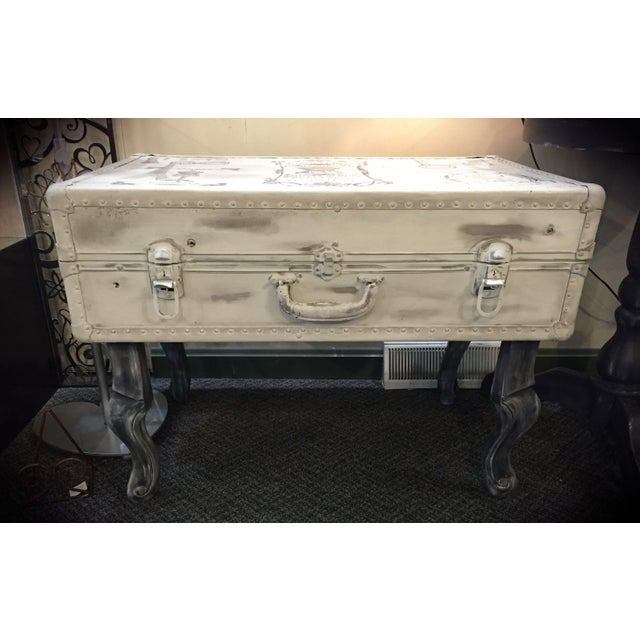 Vintage Trunk Queen Anne Coffee Table - Image 2 of 12