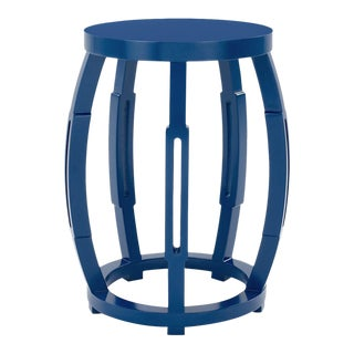 Bungalow 5 Taboret Stool/Side Table, Navy