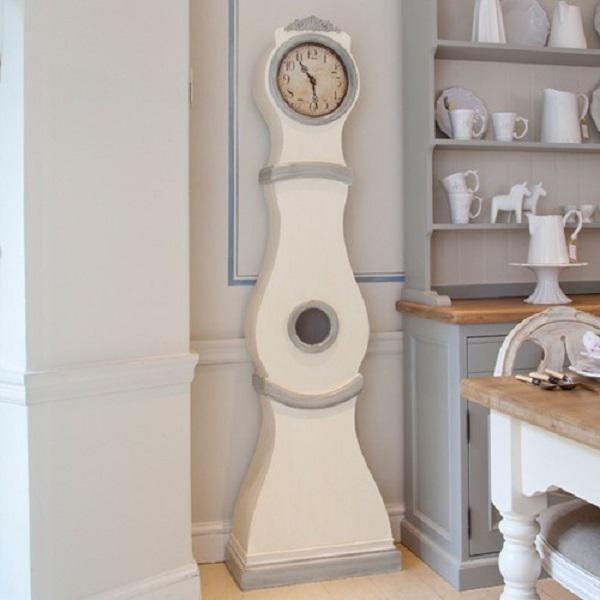 Gustavian (Swedish) Reproduction Swedish Mora Clock For Sale - Image 3 of 8