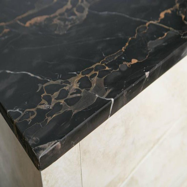 Faux Painted Marble Top Dressers- A Pair - Image 3 of 9