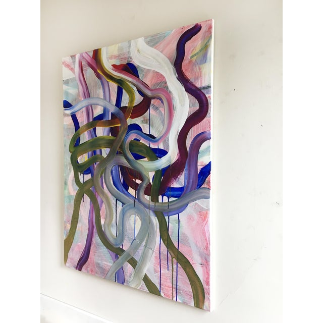 2010s Large Original Abstract Painting by Jessalin Beutler For Sale - Image 5 of 7