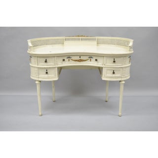 Antique French Kidney Shaped Writing Desk Preview