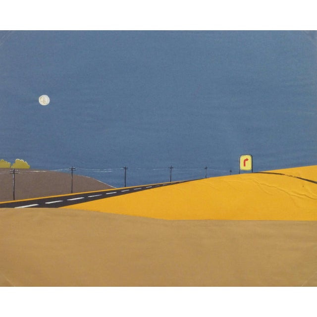 1980s Desert Road Collage For Sale - Image 5 of 5