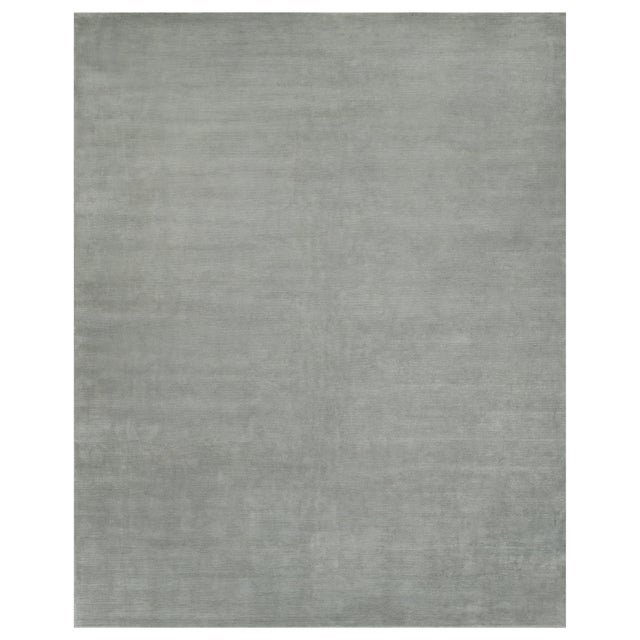 Stark Studio Rugs Contemporary Oriental Silk and Wool Rug - 12 X 15 For Sale