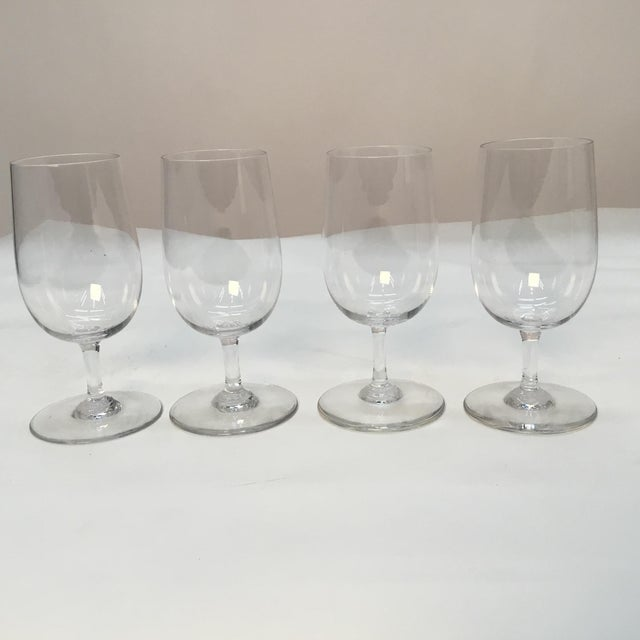 Baccarat France Wine Glasses - Set of 4 For Sale In Providence - Image 6 of 7