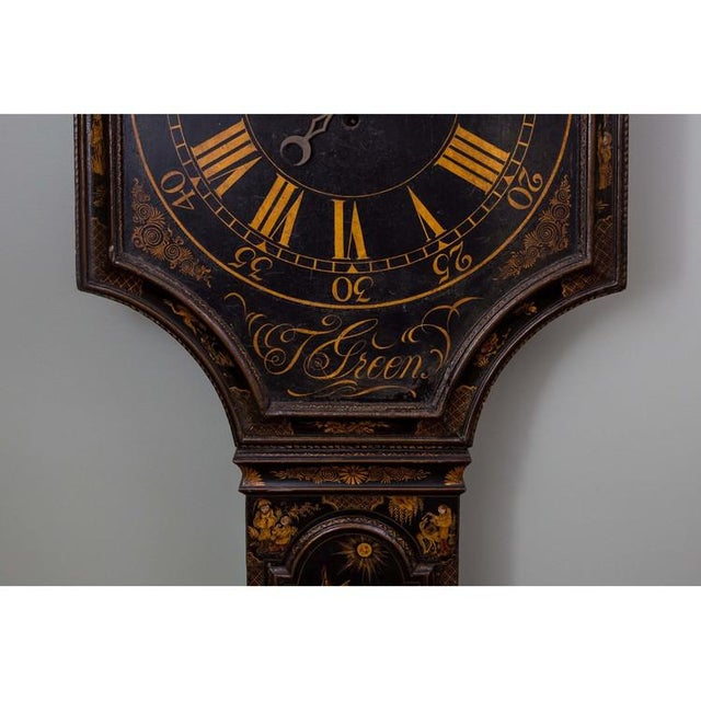T. Green: Tavern Clock with an 8-day Timepiece Movement For Sale - Image 4 of 6