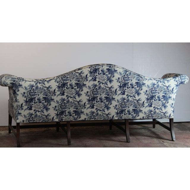 Late 20th Century 20th Century Chippendale Style Sofa For Sale - Image 5 of 6