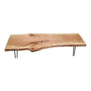 Live Edge Solid Cherry Coffee Table