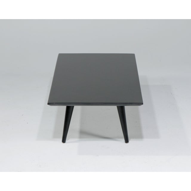 """Winchendon Furniture """"Planner Group"""" Petite 1960s Mid-Century Modern Paul MCobb Ebonized Low Table For Sale - Image 4 of 10"""