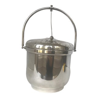 Vintage Sheffield Silver Ice Bucket