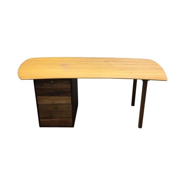 Organic Modern Work-1 Desk - Image 1 of 9