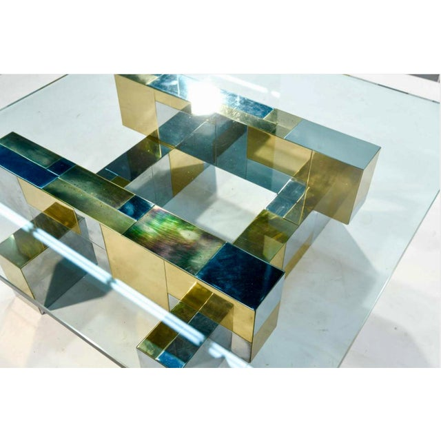 Paul Evans Cityscape Coffee Table - Image 4 of 4