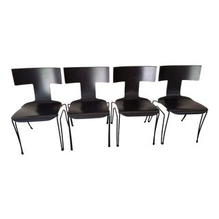 Vintage Donghia Dining Chairs - Set of 4 For Sale