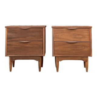 Pair of MidCentury Nightstands For Sale