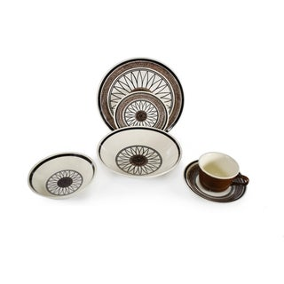 1960s Vintage Cavalier Ironstone Casa Del Sol Pattern Serving Set by Royal Usa China - 30 Pieces Preview