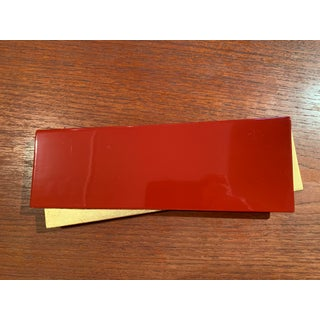 Vintage Red and Gold Japanese Lacquerware Tray Preview