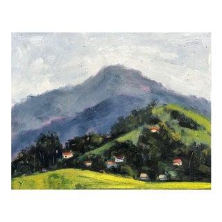 Mount Diablo Bird Sanctuary Plein Air Painting For Sale