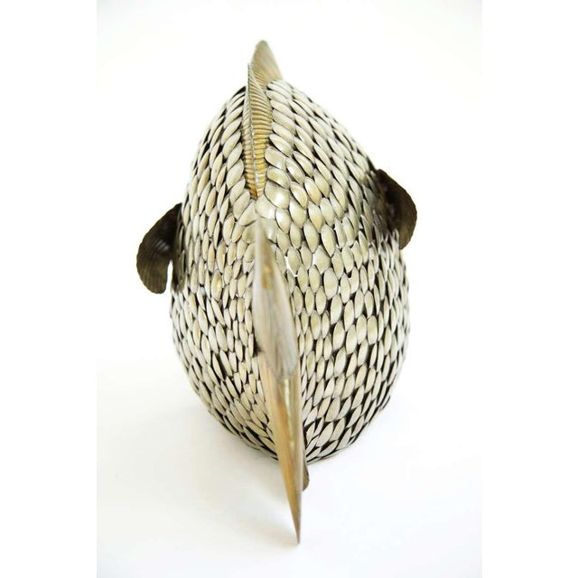 Mid-Century Modern Sergio Bustamante Fish Form For Sale - Image 3 of 5