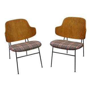 A Pair of Kofod Larsen Penguin Chairs