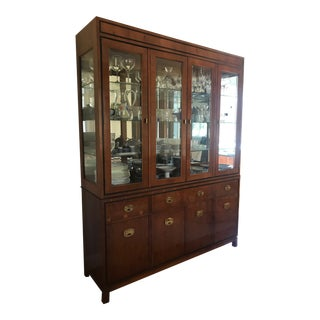 Hickory White China Cabinet For Sale