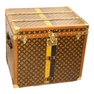 Louis Vuitton Monogram Steamer Trunk For Sale
