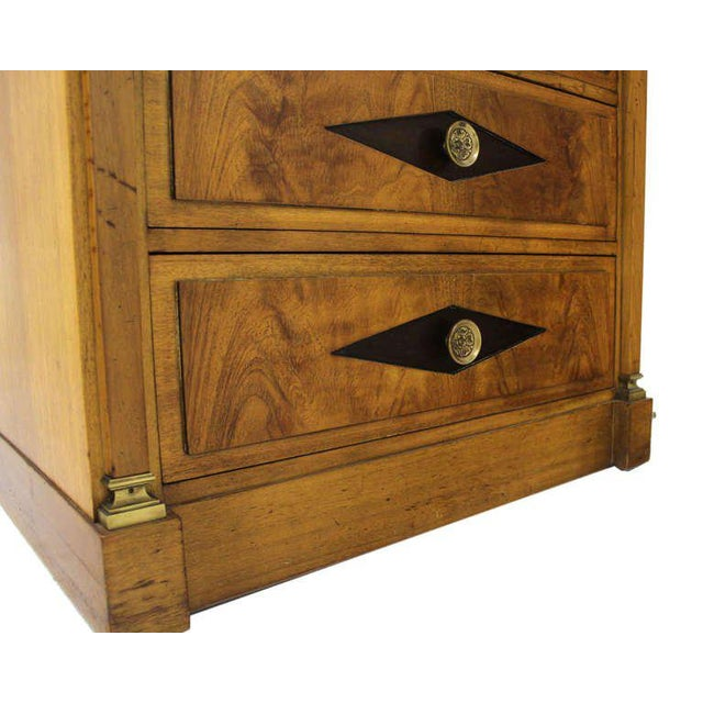 Early 20th Century Empire Vitrine Light Up Display Cabinet or Chest of Drawers For Sale - Image 5 of 9