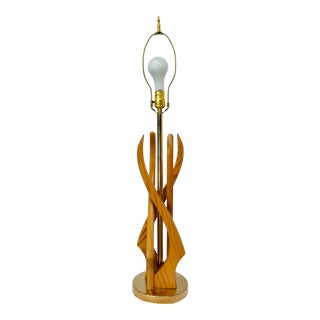 1960s Rembrandt Mid Century Modern Lamp For Sale