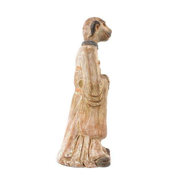 Antique Chinese Zodiac Dog Figurine - Image 6 of 9