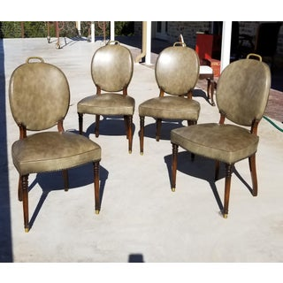 Set of Four Game Table Chairs Preview