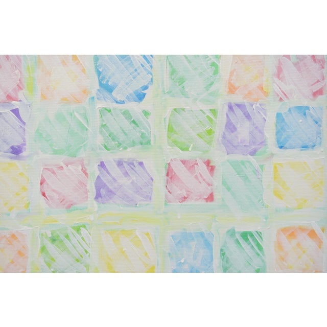 """Stephen Remick """"Snow in the Garden"""", Contemporary Abstract Painting by Stephen Remick For Sale - Image 4 of 10"""